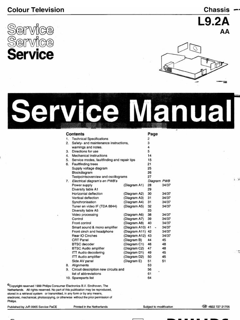 Philips Lcd Tv Schematics Trusted Wiring Diagram T V Circuit Free Download Plasma Block L9 2a Books