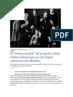 Lenin - La familia Uliánov