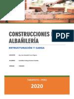 Construcciones de Albañilería