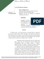 Habeas corpus STF