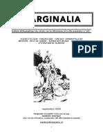 Marginalia #105 septembre 2020