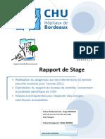 Rapport de Stage - IUT HSE - CHU Pellegrin - Potentiel Calorifique IGH