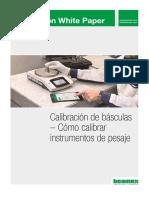 Calibración de Básculas - Cómo Calibrar Instrumentos de Pesaje 8p