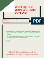 Jerónimo Aceros Rentería - Manejo de residuos sólidos octavo
