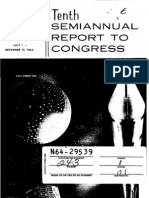 Tenth Semiannual Report to Congress July 1 - December 31, 1963