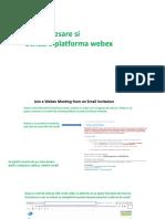 Ghid de conectare la Webex PC_MOBILE DEVICE