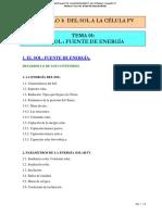 1.1  SOL-FUENTE DE ENERGÍA