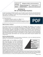 PPG Module 4 - History of Philippine Politics.pdf
