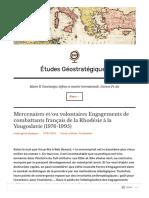 etudesgeostrategiques-com-2013-01-07-mercenaires-etou-volontaires-engagements-de-combattants-francais-de-la-rhodesie-a-la-yougoslavie-1976-1995-