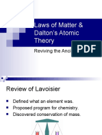 Laws of Matter and Daltons Atomic Theory