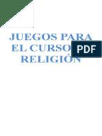 PASATIEMPOS RELIGIOSOS