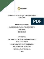 EVOLUCION GENERAL DEL DERECHO ESPAÑOL.docx