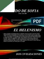 EL MUNDO DE SOFIA  PARTE 3 helenismo