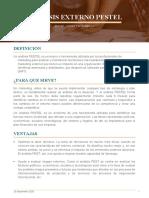 ANALISIS EXTERNO PESTEL - Marian Julissa Parra Gamez