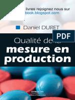 Qualite de La Mesure en Production Par