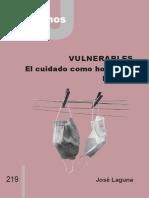 Vulnerables. El Cuidado como Horizonte Político-C&J 219
