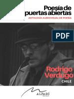33.  Poesía de puertas abiertas- RODRIGO VERDUGO-CHILE