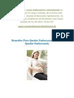 Remedios Para Quedar Embarazada - Como Quedar Embarazada