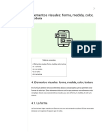 Elementos visuales_ forma, medida, color, textura - Eniun