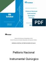 Petitorio_Nacional_Instrumental_Quirurgico_EsSalud_2014