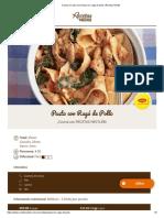 Cocina en casa una Pasta con ragú de pollo _ Recetas Nestlé