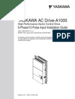 Yaskawa AC Drive-A1000