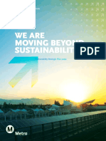 Moving Beyond Sustainability Strategic Plan