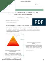 Clase 1 El Derecho Constitucional en Ecuador