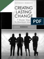 Creating Lasting Change Tony Robbins
