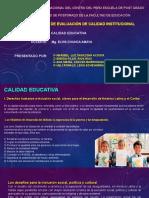 CALIDAD EDUCATIVA. EDUCACIÓN PARA TODOS