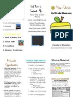 parents as educators brochure