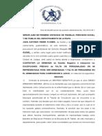 13 REDACTAR MEMORIAL DE CONTESTACION DE DEMANDA EN UN JUICIO ORAL INTERPONIENDO UNA EXCEPCION PREVIA Y RESOLVERLO.docx