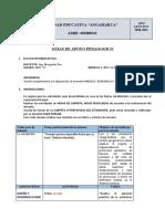 8.1 PLAN DE CONTINGENCIA 2DO-A S4