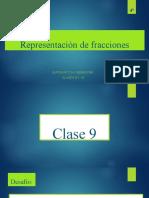 Representación de fracciones 4°