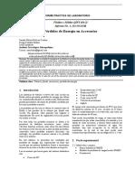 Informe Pérdidas de energía en accesorios 1