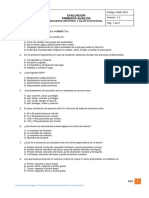 9. Evaluación Primeros Auxilios