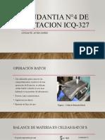 Ayudantia N°4 de Flotacion ICQ-327