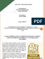 Fase 5 diapositivas depuracion renta cedular y monotributo