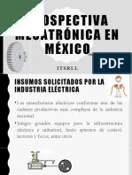Prospectiva Mecatrónica en México