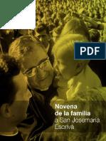 Novena a San Josemaría - La Familia