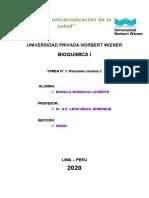 BIOQUIMICA CARBOHIDRATOS T2 BONILLA