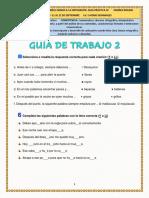 GUIA SEMANA 23 GRADO SEXTO- 21 AL 25 SEPTIEMBRE