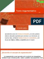 TERCERO MEDIO  SESIÓN 2 -TEXTO ARGUMENTATIVO - III MEDIO A