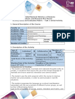 Activity Guide and Evaluation Rubrics - Task 1 - Initial Activity