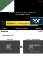 Principios de agricultura sustentable y calculadora Bonsucro2017_Modulo3
