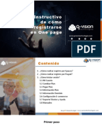 Instructivo One page