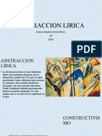 ABSTRACCION LIRICA