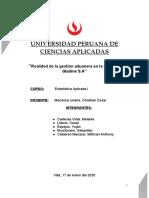 TRABAJO DE ESTADISTICA PRIMER AVANCE