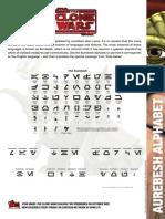 cw alphabet