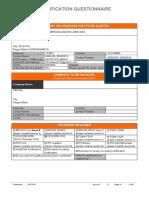 GF0101 Generic Food Certification Questionnaire.docx